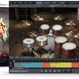 Toontrack The Rock Foundry SDX SOUNDBANK [WiN-MAC]