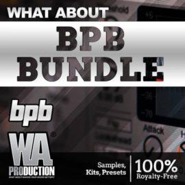 WA Production BPB Bundle Future Bass Pop Synthwave WAV MiDi XFER SERUM PRESETS