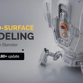Hard Surface Modeling In Blender 2.80 + Update