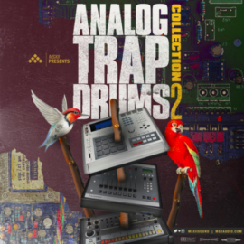 MSXII Analog Trap Drums Collection 2 WAV