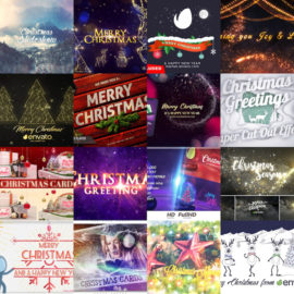 Videohive Christmas MEGA PACK-2 Free Download