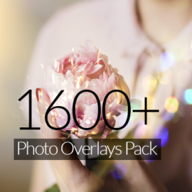 Inkydeals 1600+ Photo Overlays Pack Free Download