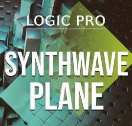 WA Production Synthwave Plane v2 TEMPLATE FOR LOGiC PRO X + WAV MiDi XFER SERUM PRESETS