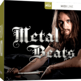 Toontrack Metal Beats MiDi [MAC]