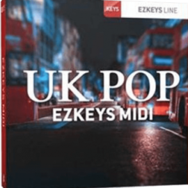 Toontrack UK Pop EZkeys MiDi [MAC]