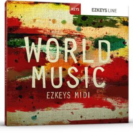 Toontrack World Music EZkeys MiDi MAC