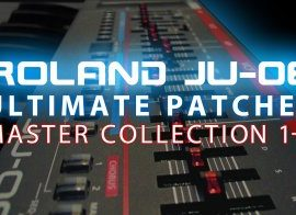 Ultimate Patches JU-06 MASTER COLLECTION Vol.1-6 PRM