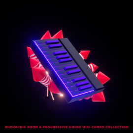 Unison Big Room & Progressive House MIDI Chord Collection