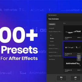 Text Animator – One Click Text Presets Free Download