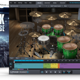 Toontrack THE ROCK WAREHOUSE SDX v1.5 Update [WIN]
