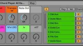 Benjamin Soma Chord Player v2.7 for Ableton Live