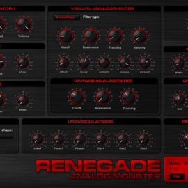 G-Sonique Renegade v1.3 [WIN]