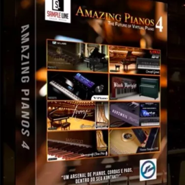 Sample Line Amazing Pianos 4 KONTAKT