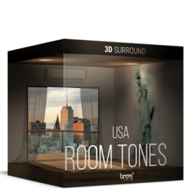 Boom Library Room Tones USA 3D Surround Edition WAV