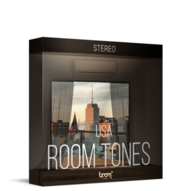 Boom Library Room Tones USA Stereo Edition WAV