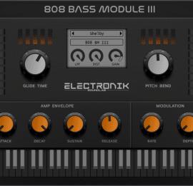 Electronik Sound Lab 808 Bass Module 3 v3.4.0 [WIN-MAC]