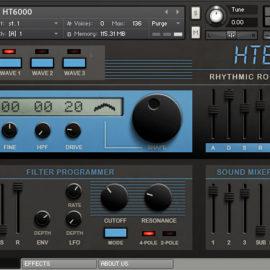 Rhythmic Robot Audio HT6000 KONTAKT