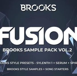 Fusion – Brooks Sample Pack Vol.2 – WAV MiDi FLP Serum Sylenth1 Spire Presets
