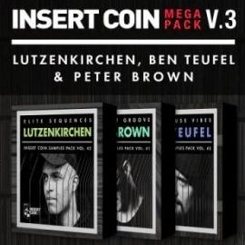 Insert Coin Insert Coin Mega Pack V3: Lutzenkirchen Ben Teufel and Peter Brown WAV