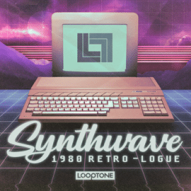 Looptone Synthwave 1980 Retro-logue WAV