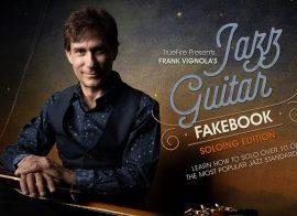 Truefire Frank Vignola Jazz Guitar Fakebook Soloing Vol. 1 TUTORiAL