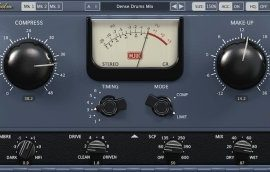 Klanghelm MJUC variable-tube compressor v1.5.0 (WIN-MAC)