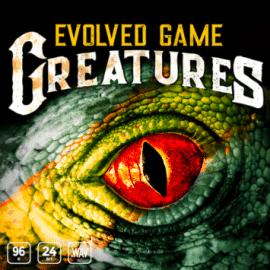 Epic Stock Media Evolved Game Creatures WAV