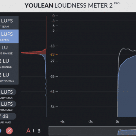 Youlean Loudness Meter Pro v2.4.0 Free Download