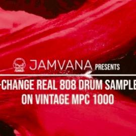 Jamvana presents X-Change Real 808 Drum Samples on Vintage MPC 1000 WAV
