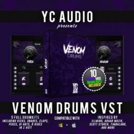 YC Audio – Venom Drums VST (WIN-MAC)