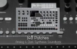 Conforce Dark Synthesis for Analog Four Keys SYX