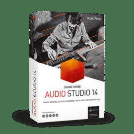 MAGIX SOUND FORGE Audio Studio 14.0.75 Free Download