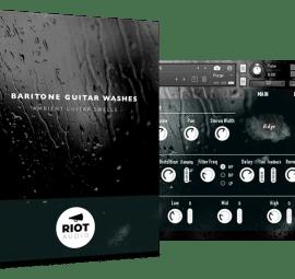 Riot Audio Baritone Guitar Washes KONTAKT