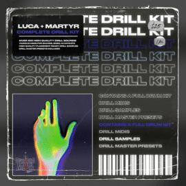 Overlord Mafia Luca + Martyr Complete Drill Kit WAV MiDi FST [FREE]