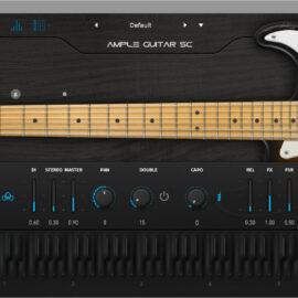 Ample Sound Ample Guitar Stratocaster v3.1.0 [WIN-MAC]