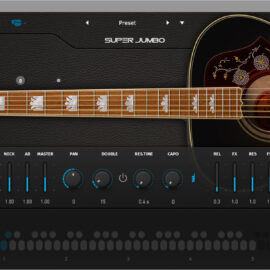 Ample Sound Ample Guitar Super Jumbo v3.2.0 [WiN-MAC]