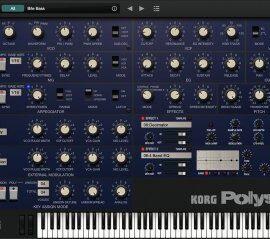 KORG Polysix v2.0.7 (Mac OS X)