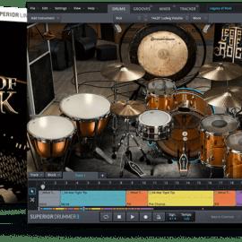 Toontrack Legacy Of Rock SDX v 1.0.0 (SOUNDBANK)