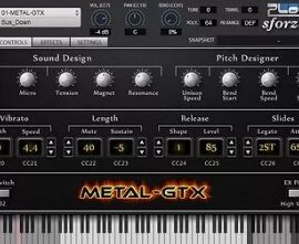 Unreal Instruments METAL-GTX v1.000-R2R
