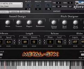 Unreal Instruments METAL-GTX v1.000-R2R