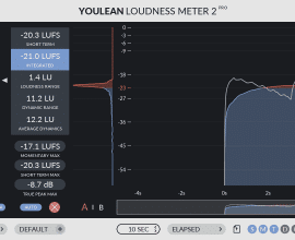 Youlean Loudness Meter Pro 2 v2.4.0 Incl Patched and Keygen-R2R