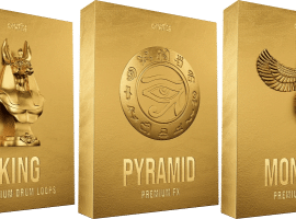 Cymatics PHARAOH Premium Drum Samples WAV MiDi