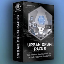 Elke Retumba Bundle Urban Drum Pack Reggaeton, Afrobeat ,Trapeton, Dhall WAV