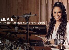 MasterClass Sheila E. Teaches Drumming and Percussion TUTORiAL