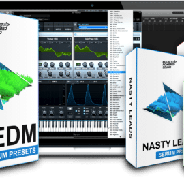 Rocket Powered Sound Ultimate EDM Serum Pack & Extension For XFER RECORDS SERUM