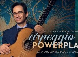 Truefire Andrew Leonard Arpeggio Power Play TUTORiAL