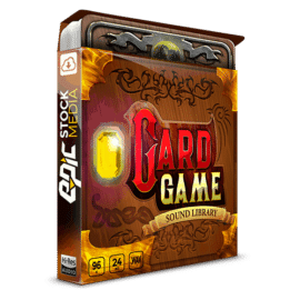 Epic Stock Media AAA Card Game – DCCG Sound Effects Kit