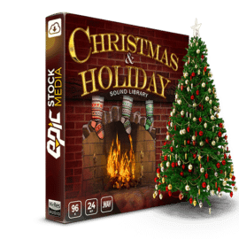 Epic Stock Media Christmas & Holiday Sound Effects Library