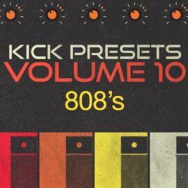 Sonic Academy KICK 2 Presets Vol. 10 808s