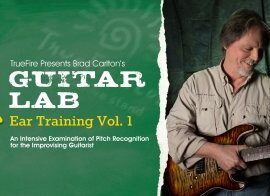 Truefire Brad Carlton Guitar Lab Ear Training Vol.1 TUTORiAL